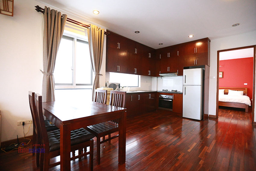 Unlimited view 2 bedroom apartment on and spacious Xom Chua Road, quiet and friendly residence 4