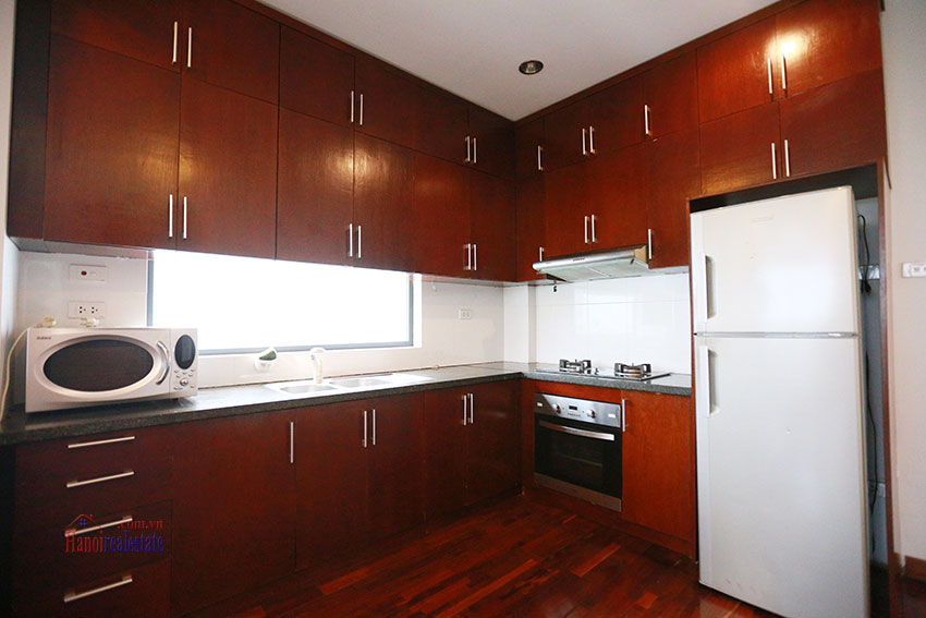 Unlimited view 2 bedroom apartment on and spacious Xom Chua Road, quiet and friendly residence 5