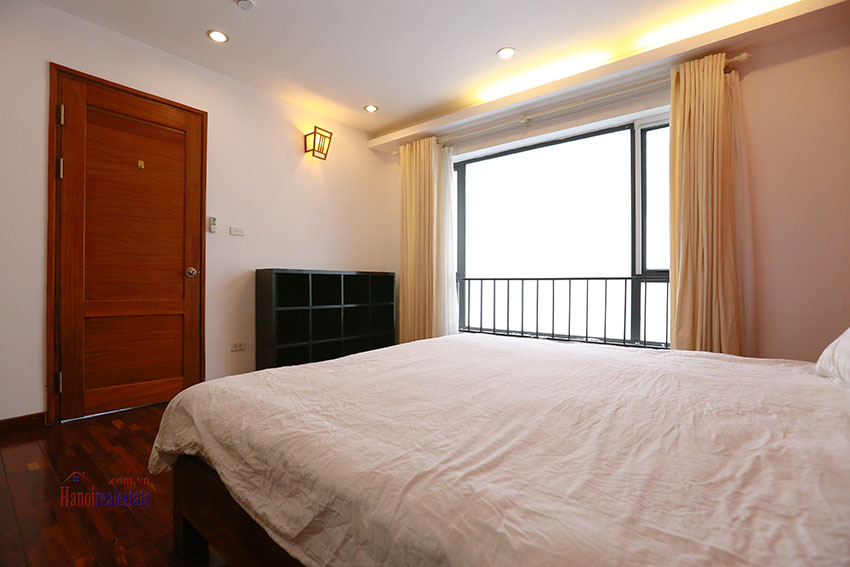 Unlimited view 2 bedroom apartment on and spacious Xom Chua Road, quiet and friendly residence 8
