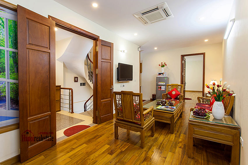 Vietnamese traditional style apartment with 2 bedrooms, spacious size 1