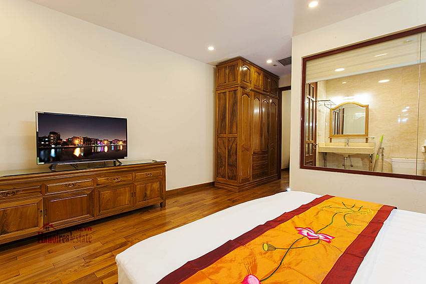 Vietnamese traditional style apartment with 2 bedrooms, spacious size 14