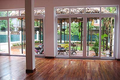 Villa for rent in Tay Ho-Hanoi, 5 bedroom villa include garden and yard