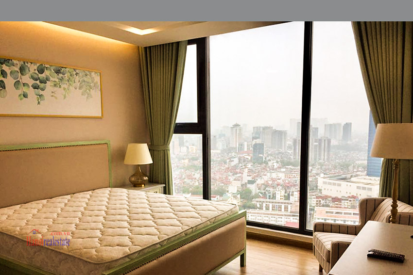 Vinhomes Metropolis 3 bedroom Apartment for rent at M1 Tower, High floor, Nice View 13
