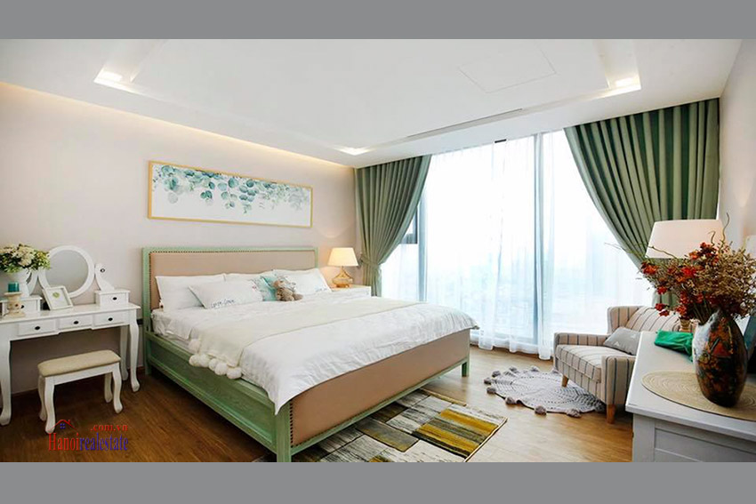 Vinhomes Metropolis 3 bedroom Apartment for rent at M1 Tower, High floor, Nice View 9