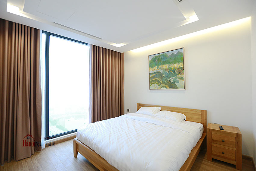 Vinhomes Metropolis: Lovely 03BRs apartment with Ngoc Khanh lake view at M1 9