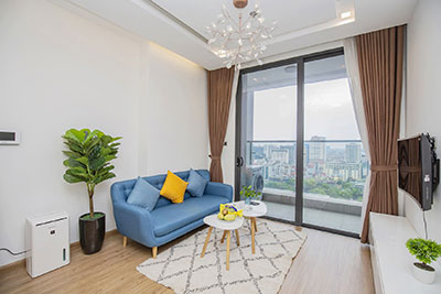 Vinhomes Metropolis One bedroom apartment in M2 Tower for rent
