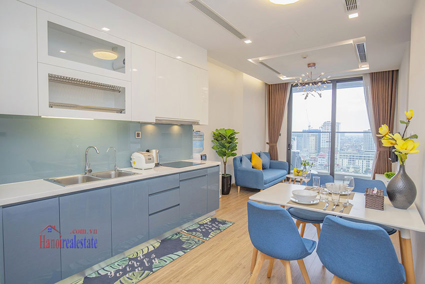 Vinhomes Metropolis One bedroom apartment in M2 Tower for rent 6