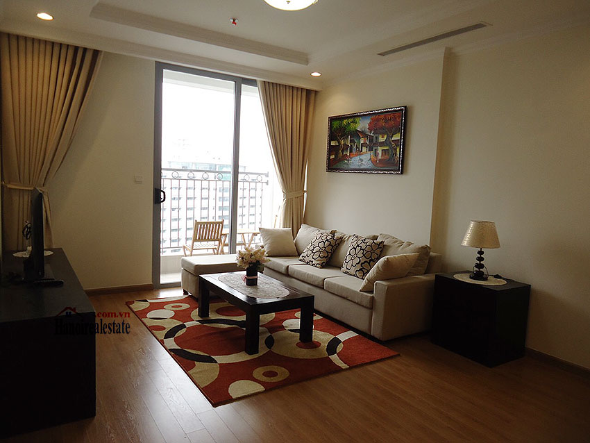 Vinhomes Nguyen Chi Thanh: Fully furnished 02BRs apartment, balcony with city view 1