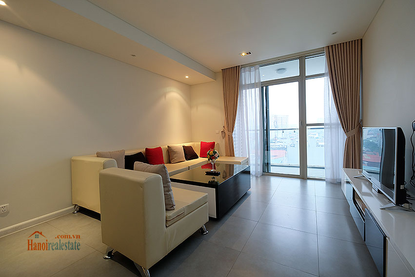 Watermark: City view 02BRs apartment with balcony, 94m2 4