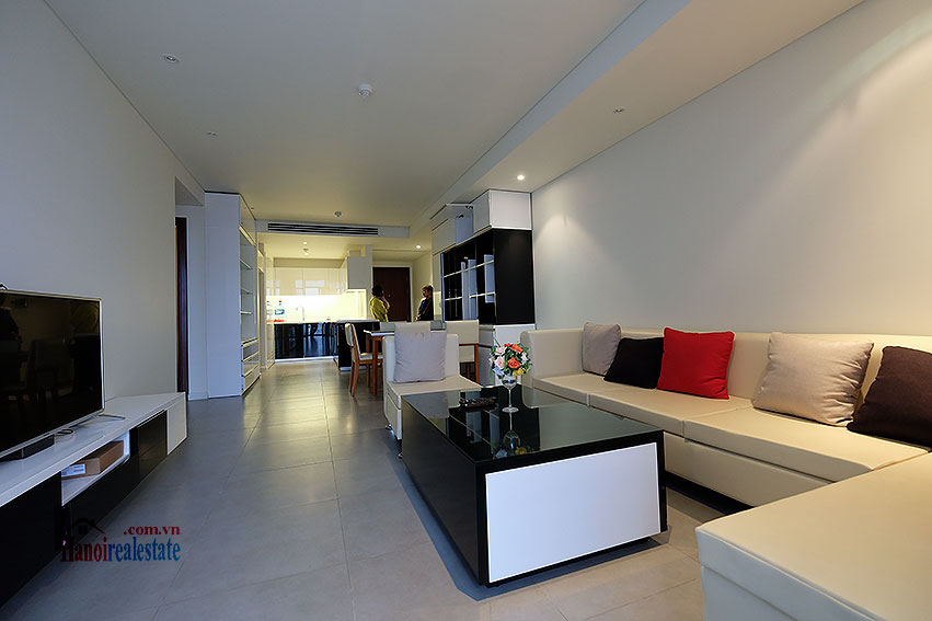 Watermark: City view 02BRs apartment with balcony, 94m2 9