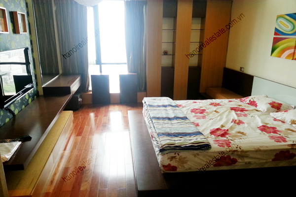 Well Furnished 3 bedroom Apartment on High floor Pacific Place Hanoi 10