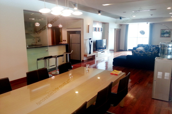 Well Furnished 3 bedroom Apartment on High floor Pacific Place Hanoi 2