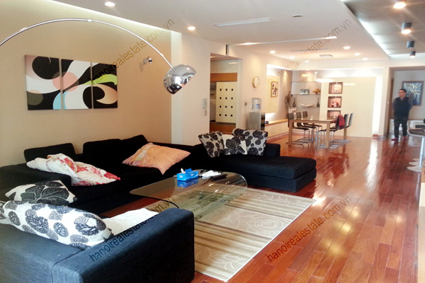 Well Furnished 3 bedroom Apartment on High floor Pacific Place Hanoi 5