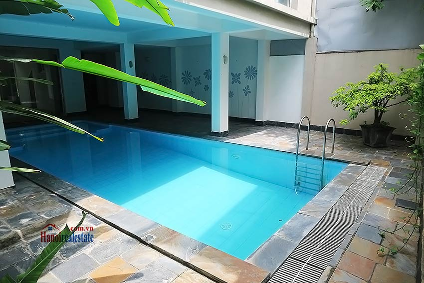 West lake 05brs modern house to rent with swimming pool and terrace Red house hotel swimming pool