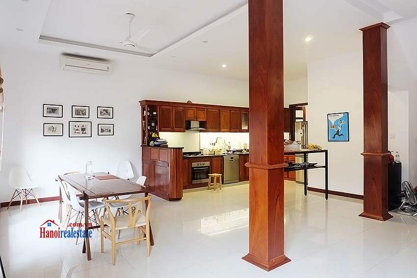 West lake view, 05 BRs villa to rent on To Ngoc Van with large garden & terrace 16