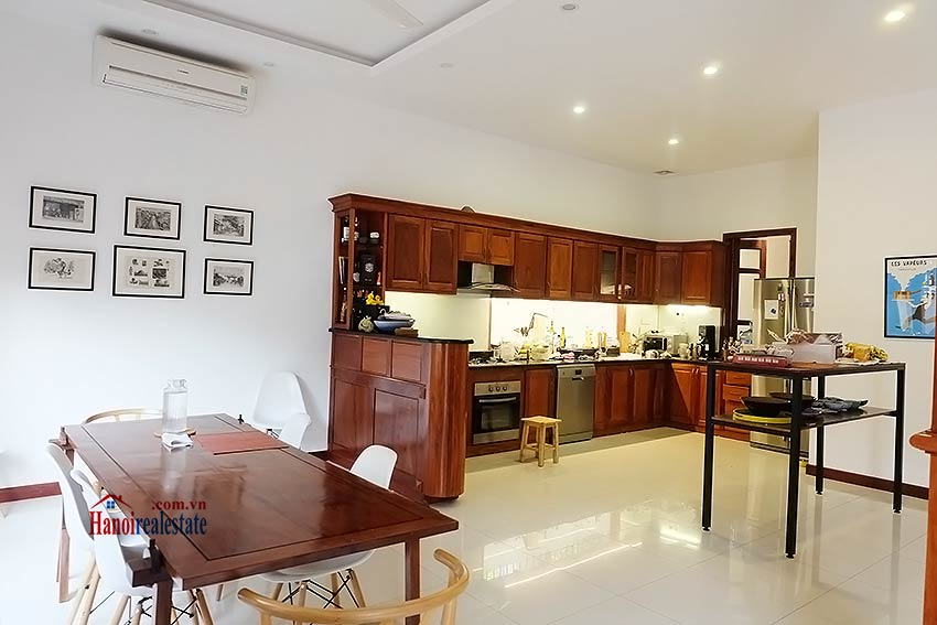West lake view, 05 BRs villa to rent on To Ngoc Van with large garden & terrace 17