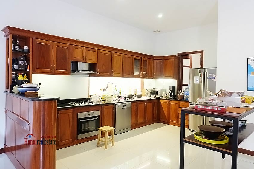 West lake view, 05 BRs villa to rent on To Ngoc Van with large garden & terrace 18
