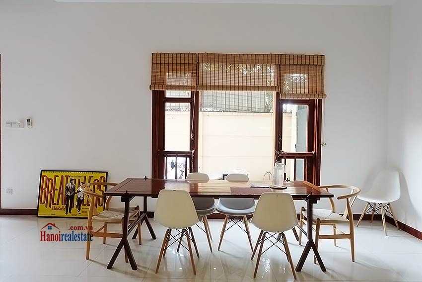 West lake view, 05 BRs villa to rent on To Ngoc Van with large garden & terrace 19