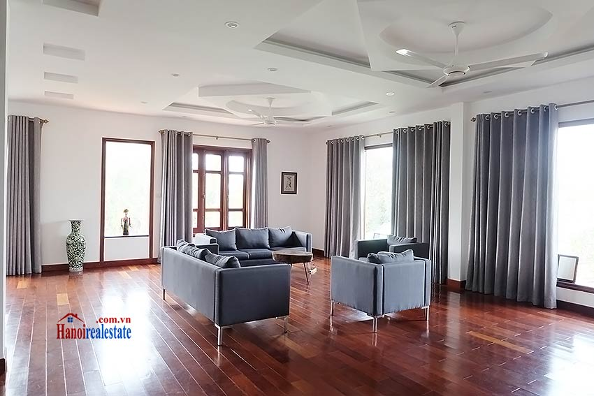 West lake view, 05 BRs villa to rent on To Ngoc Van with large garden & terrace 21