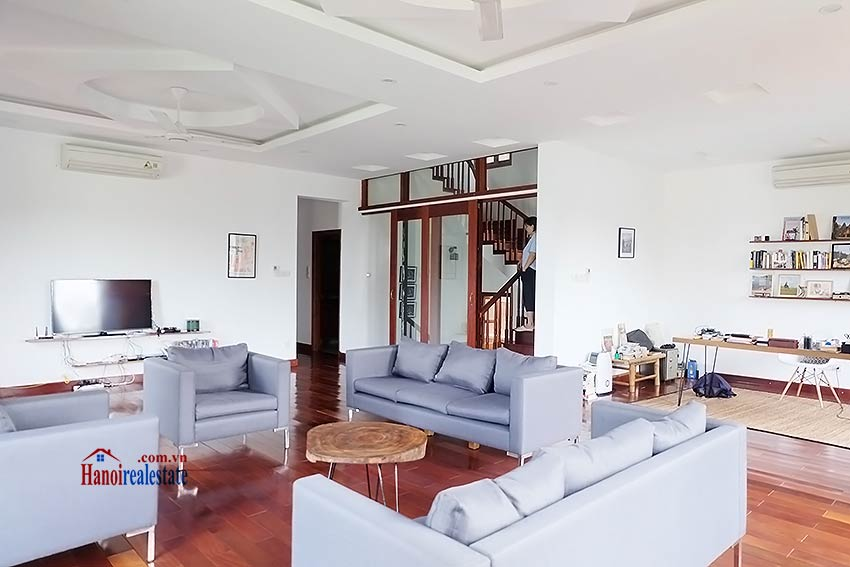 West lake view, 05 BRs villa to rent on To Ngoc Van with large garden & terrace 22