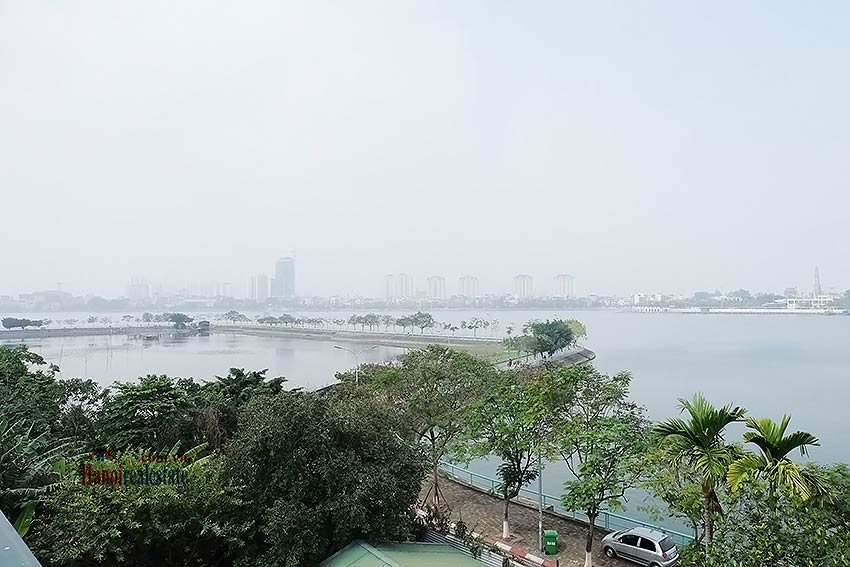 West lake view, 05 BRs villa to rent on To Ngoc Van with large garden & terrace 51