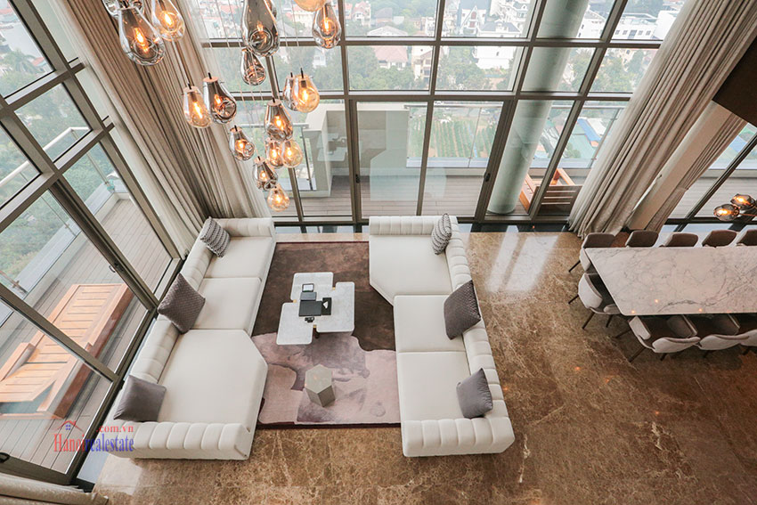 West Lake View Ambassadors Penthouse in Oakwood Residence Hanoi 1