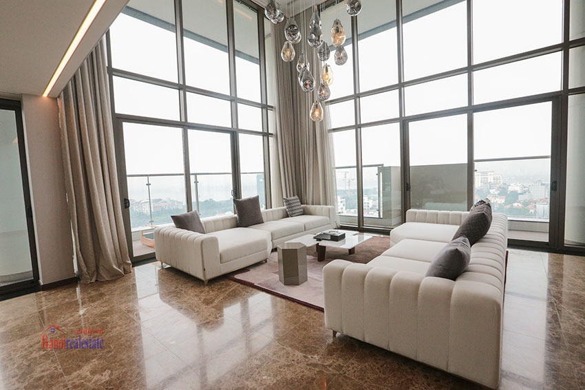 West Lake View Ambassadors Penthouse in Oakwood Residence Hanoi 2
