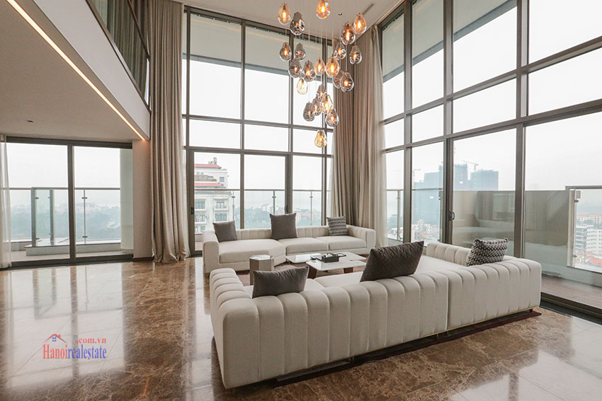 West Lake View Ambassadors Penthouse in Oakwood Residence Hanoi 3