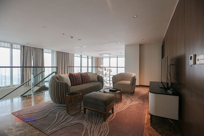 West Lake View Ambassadors Penthouse in Oakwood Residence Hanoi 42