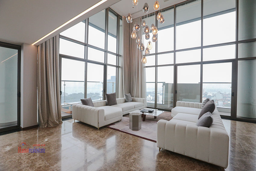 West Lake View Ambassadors Penthouse in Oakwood Residence Hanoi 7