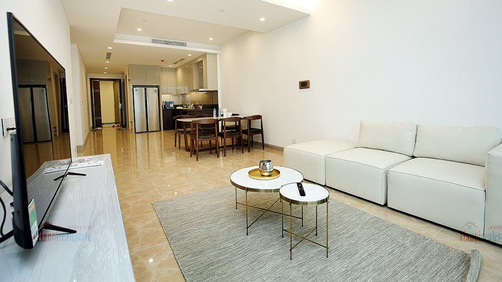 Westlake view apartment in Sun Grand City, Thuy Khue Street, very spacious 1