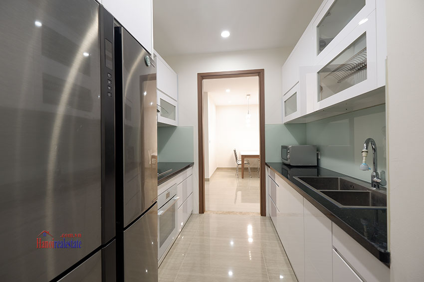 Wonderful 03 bedroom apartment in L Block Ciputra, high floor, quiet and green area 24