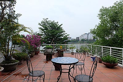 Enjoy West Lake View Terrace Apartment In Tay Ho, 02 bedrooms